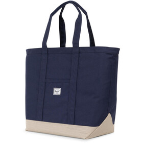 Herschel Bamfield Mid-Volume Tote Bag, peacoat/eucalyptus
